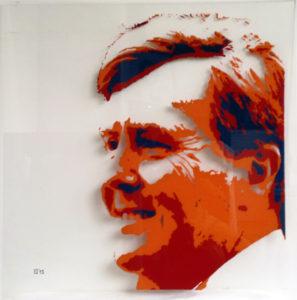 willem alexander portret op glas