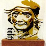 jeroen bosch portret op glas
