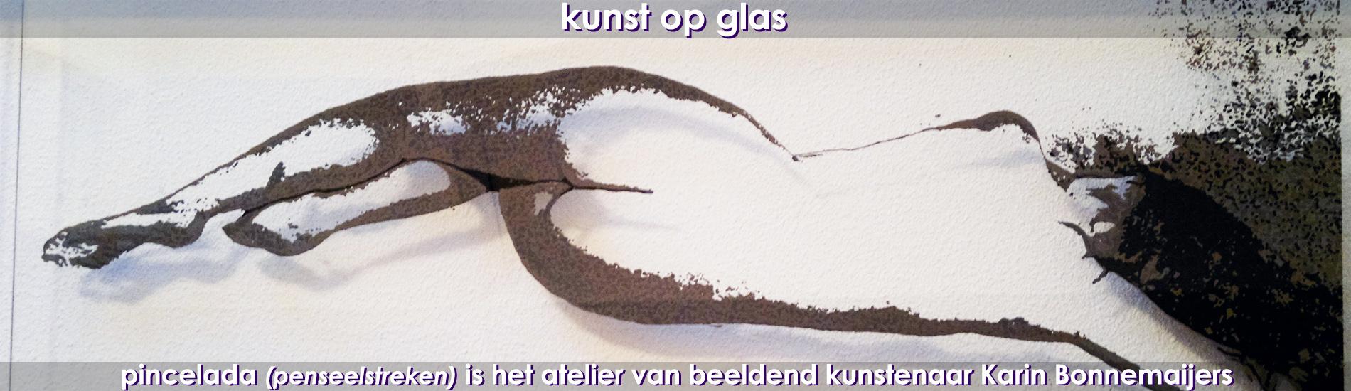 kunst op glas